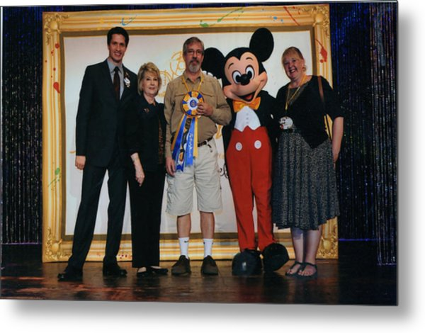 Disney's Festival Of The Masters Metal Print