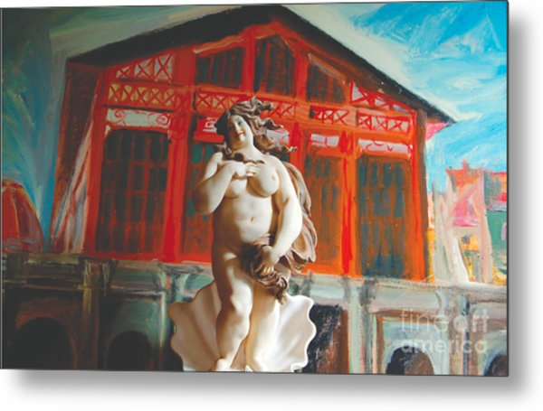 Divina Cucina Metal Print by Judy Witts
