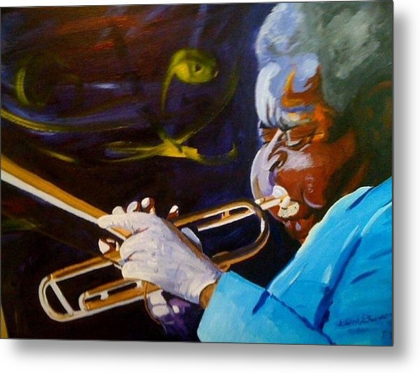 Dizzy Metal Print by David Duerson