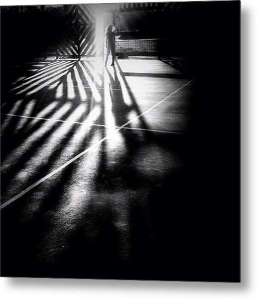 Do You See Darkness Or Light Metal Print