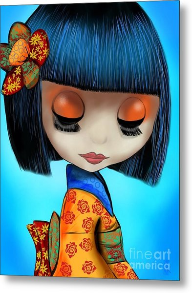 Doll From The East Metal Print