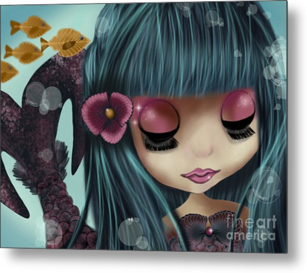 Doll From The Sea Metal Print