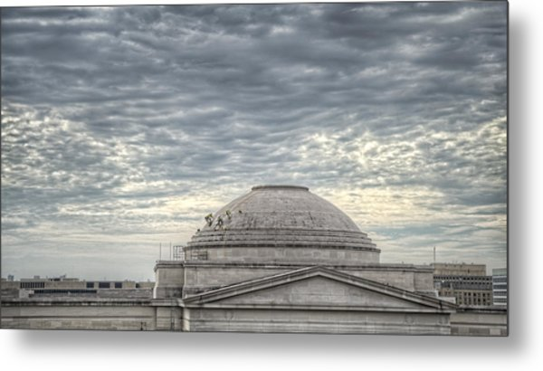Dome Workers Metal Print