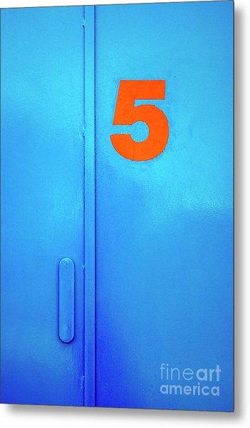 Door Five Metal Print