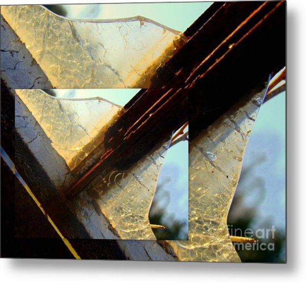 Double Jointed  Metal Print