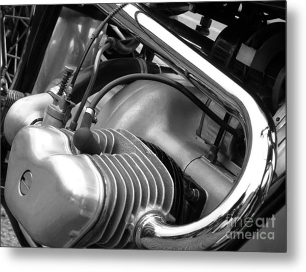 Douglas Engine Metal Print by Andrew May