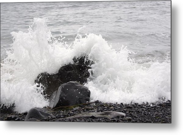 Down By The Seashore Metal Print by Angi Parks