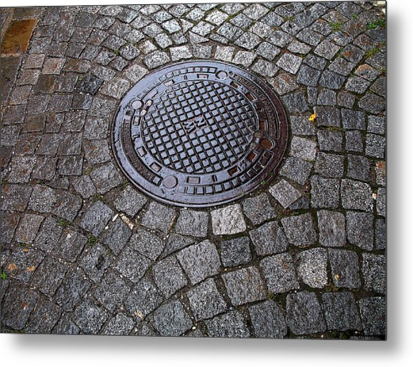 Down In Durnstein Metal Print by Joanne Riske