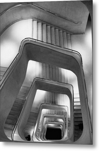Downstairs Metal Print