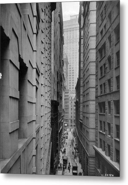 Downtown Canyon Metal Print by R Gates