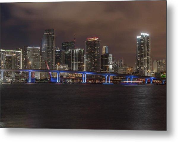 Downtown Miami 2012 Metal Print by Dan Vidal