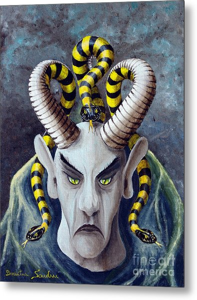 Dracu Mort From Arboregal Metal Print