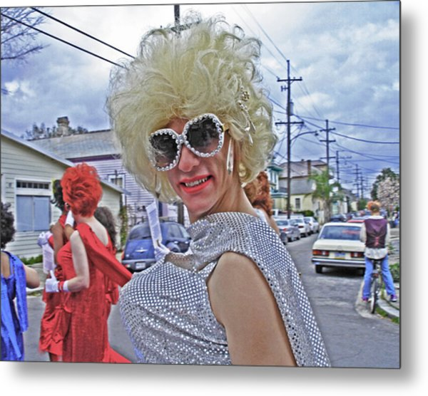 Drag Queen Supreme In New Orleans Metal Print
