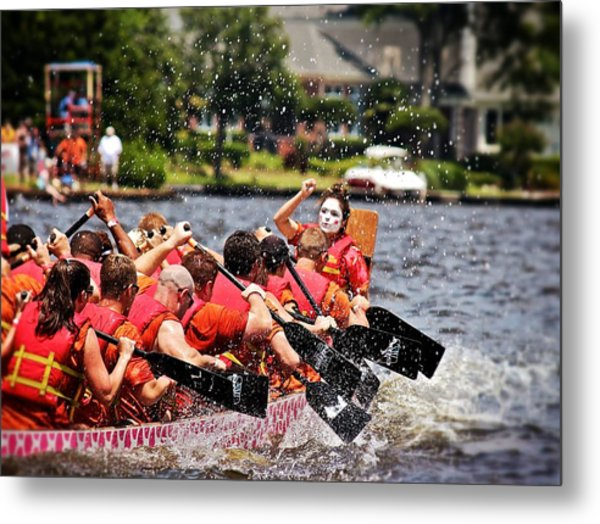 Dragon Boat Regatta  Metal Print