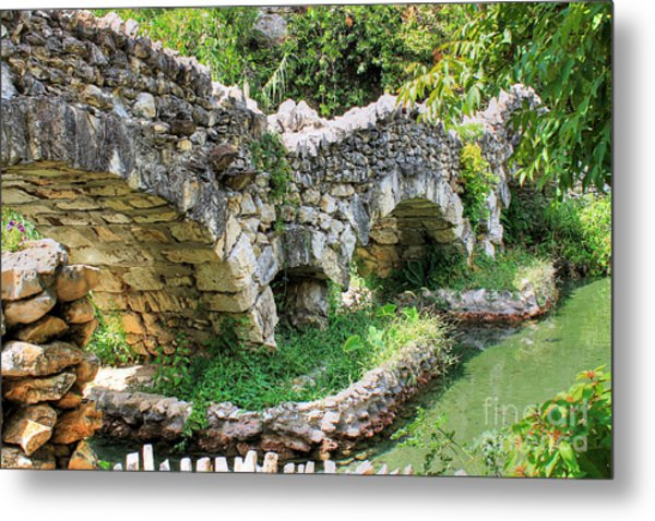 Dragon Bridge Metal Print