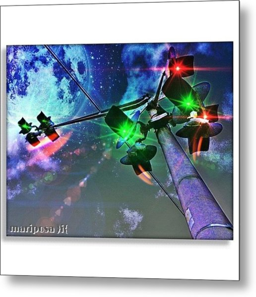 Dream Crossing Metal Print