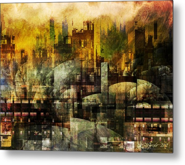 Dream In A Dream II Metal Print