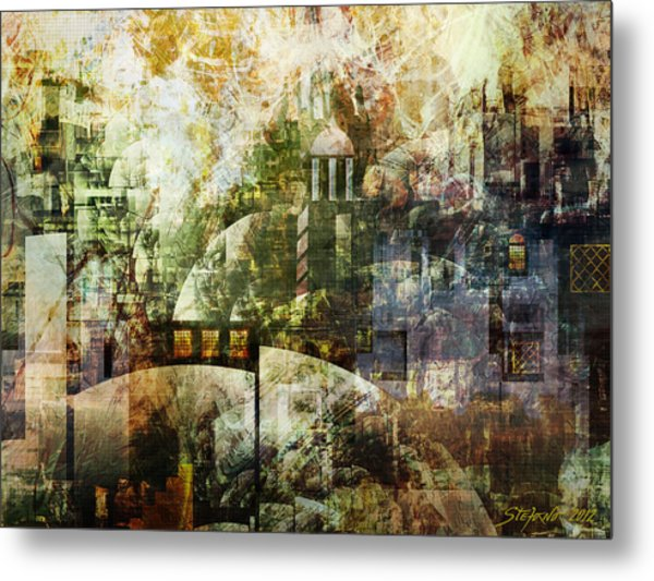 Dream In A Dream Metal Print