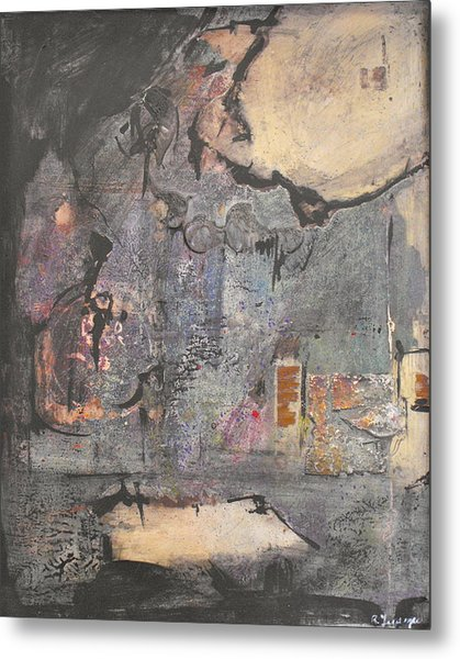 Dream In A Mid Summer Night Metal Print by Ralph Levesque