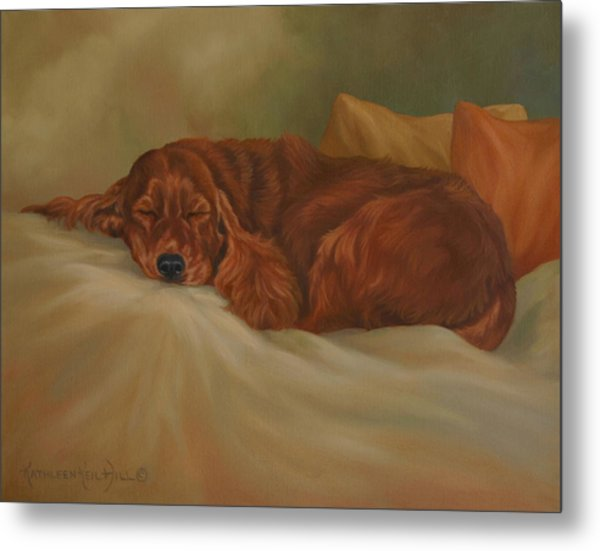 Dreaming Metal Print by Kathleen  Hill