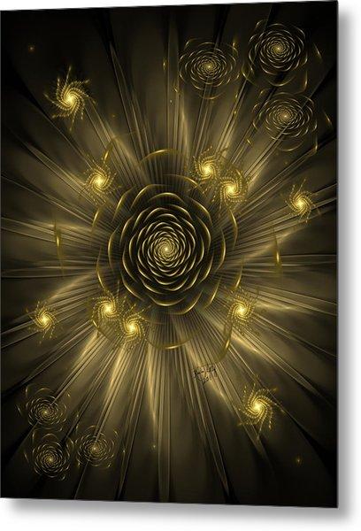 Dreaming Of Gold Metal Print