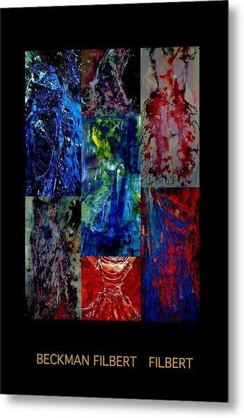 Dress Series Cover Metal Print