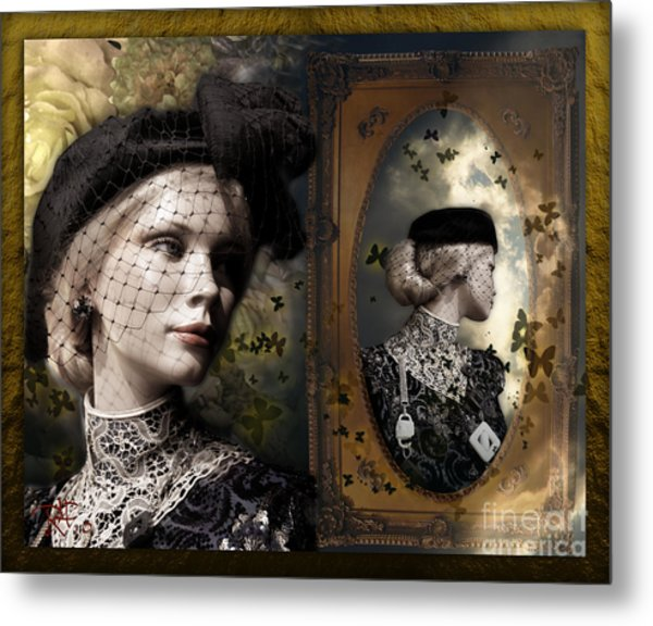 Dressed Up For A  Dream Metal Print