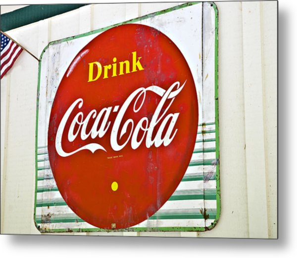 Drink Coca Cola Metal Print