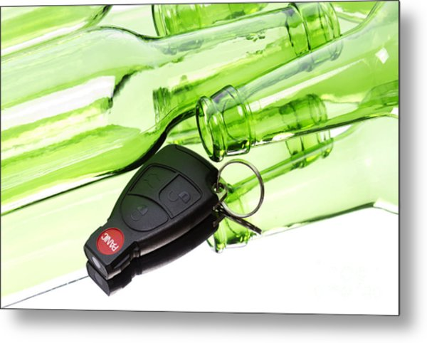 Drunk Driving Metal Print by Blink Images