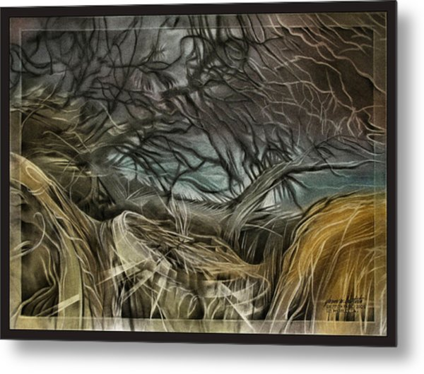 Drytreescape 2009 Metal Print