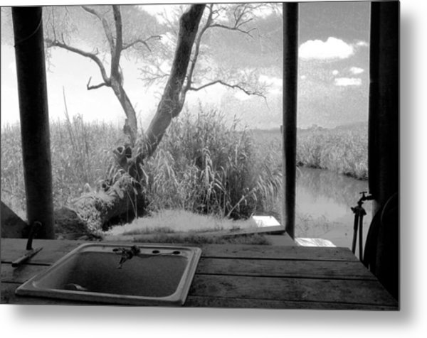 Duck Camp Metal Print by Rdr Creative