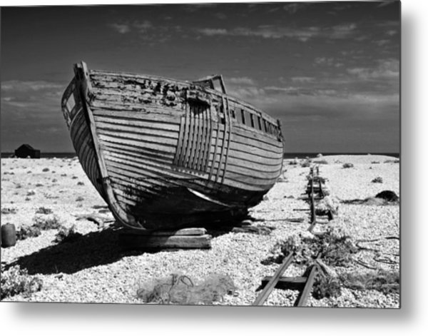 Dungeness Decay Metal Print