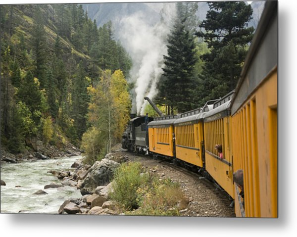 Durango-silverton Train - 1161 Metal Print