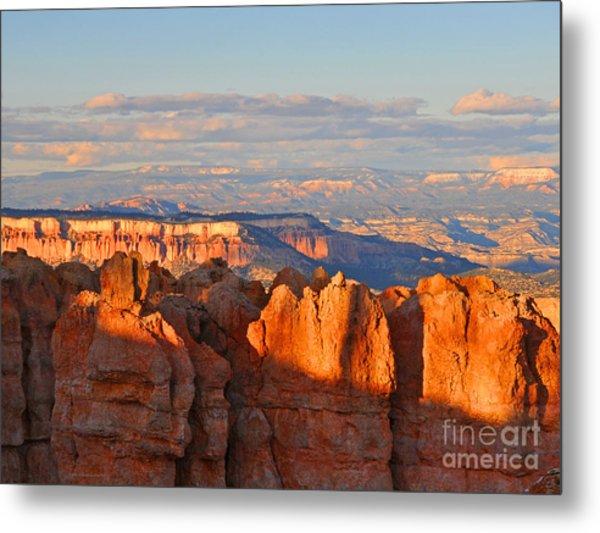 Dusk At Bryce Canyon National Park Metal Print