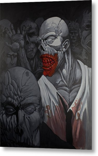 E Pluribus Unum Metal Print by Jake Perez