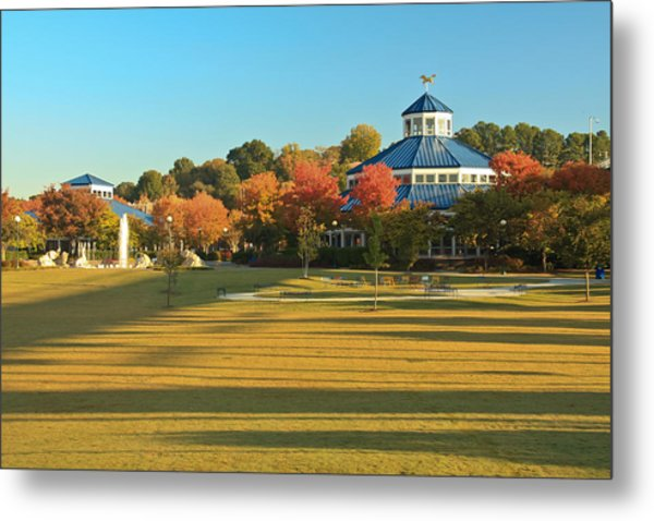 Early Morning Coolidge Park Metal Print