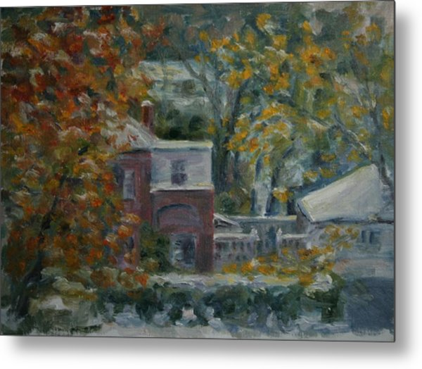 Early Snow Hartford Metal Print