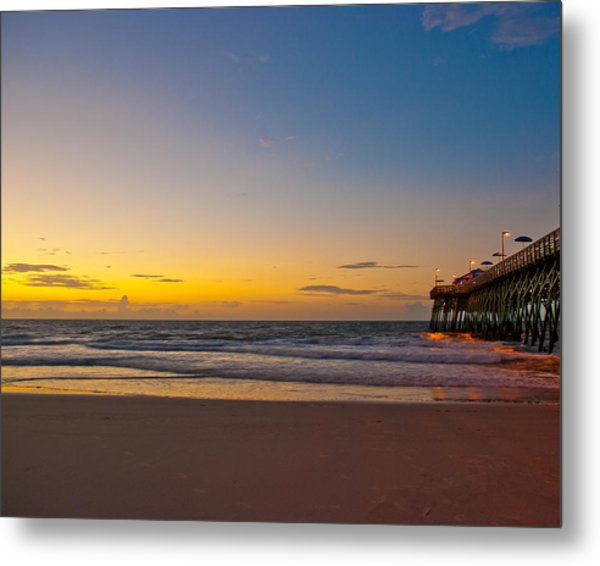 Metal Print featuring the photograph East Coast Sunrise by Francis Trudeau