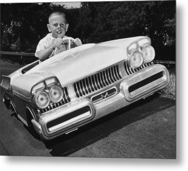 Easy Driver Metal Print by Archive Photos