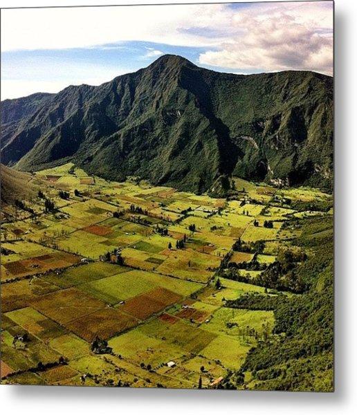 #ecuador #middleoftheworld #instamood Metal Print
