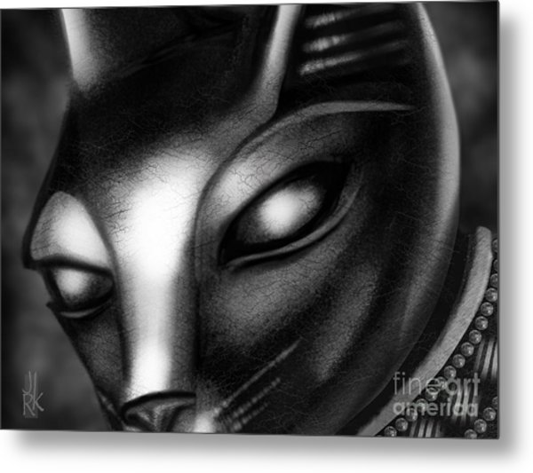 Egyptian Cat Metal Print