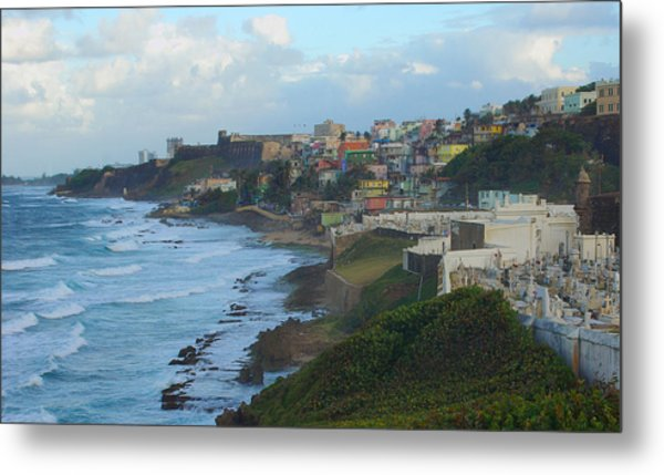 El Morrow With San Juan Seashore Metal Print