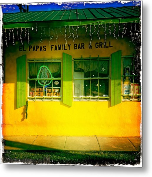 El Papas Family Bar And Grill Metal Print