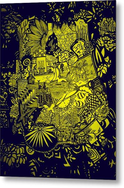 El Pescador Metal Print by MikAn 'sArt