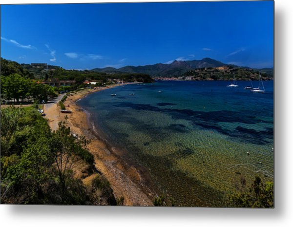 Elba Island - On The Beach 1 - Ph Enrico Pelos Metal Print
