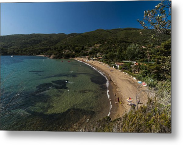 Elba Island - On The Beach 2 - Ph Enrico Pelos Metal Print