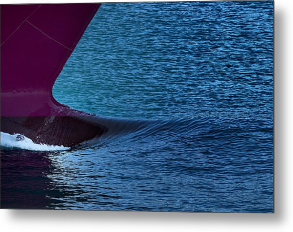 Metal Print featuring the photograph Elba Island - Purple Wave - Ph Enrico Pelos by Enrico Pelos
