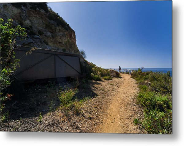 Elba Island - The Ancient Path - Il Vecchio Sentiero - Ph Enrico Pelos Metal Print