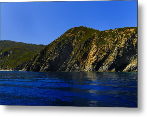 Elba Island - Blue And Green 2 - Blu E Verde 2 - Ph Enrico Pelos Metal Print