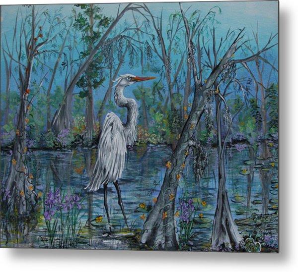 Elusive Swamp Metal Print
